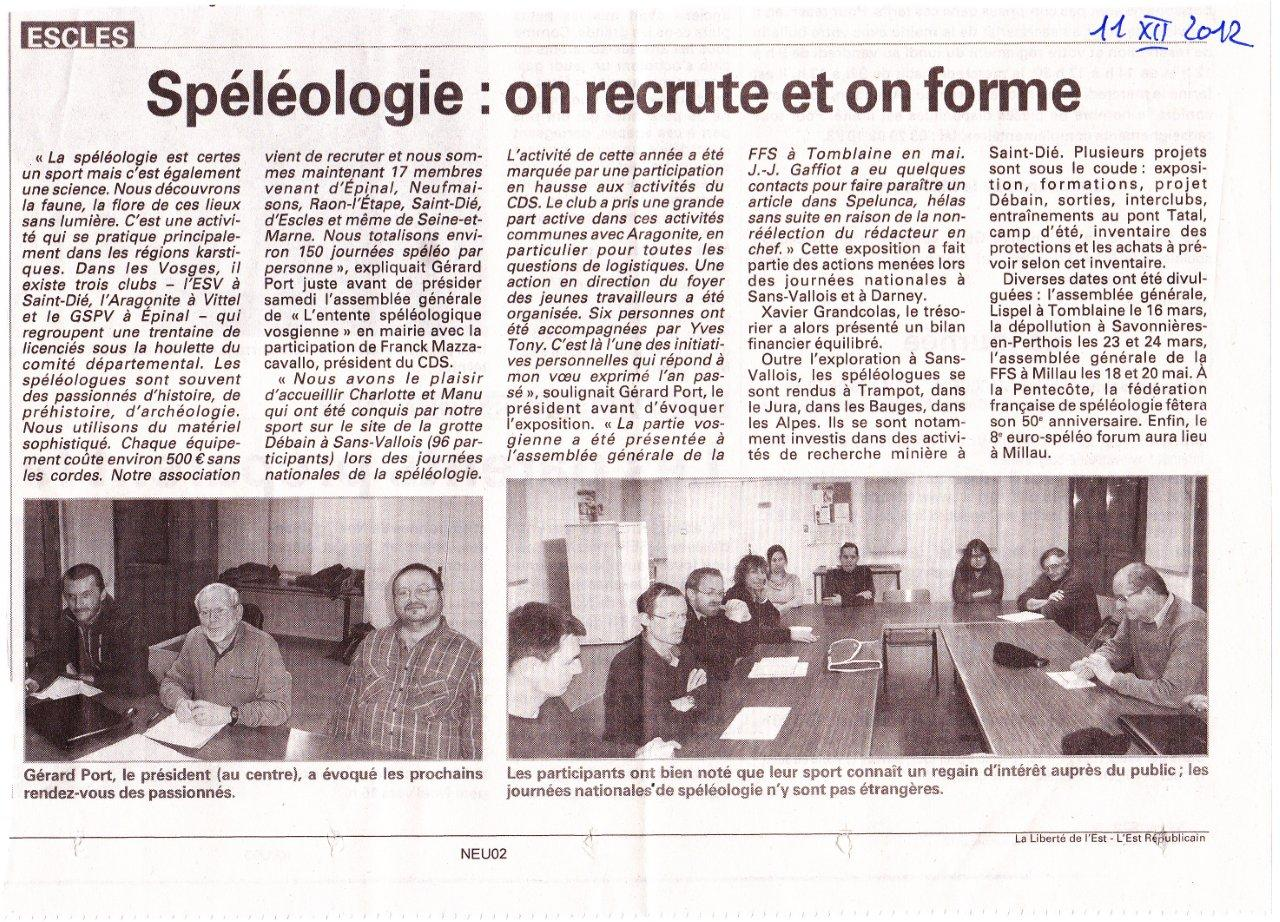 article AG ESV 2012